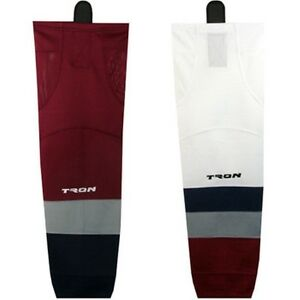 """Colorado Avalanche Hockey Socks Dry Fit Edge Inspired Colors 24"""" or  30"""" SK300"""