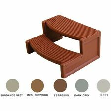 Confer Plastics HS2SG Handi-Step Multi Purpose Spa & Hot Tub Steps Sundance Gray