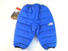 Reversible Insulated Blue ~ Print Snow Ski Sport Pants The North Face []