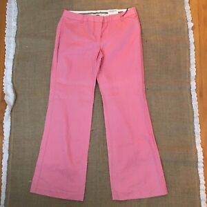 Express Editor Pink Pants Low Rise Flare Size 12