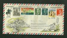 1978 Cover Sent From Ibiza Spain to Wien Austria With Used Stamps