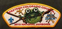 WESTERN COLORADO COUNCIL BSA MIC-O-SAY OA LODGE 541 2013 JAMBOREE MUD FROG  CSP