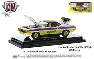 Chase 1971 PLYMOUTH CUDA 440 1/24 MODEL M2 40300-82 A