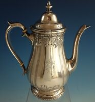 Navarre by Watson Sterling Silver Coffee Pot Chased #9826 (#2143)