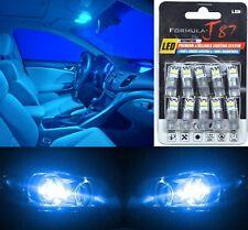 LED 3030 Light Blue 10000K 168 Ten Bulbs Front Side Marker Parking Lamp JDM