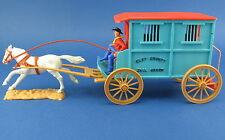 TIMPO TOYS - Gefängniswagen mit Pferd - Gefängniskutsche - JAIL WAGON - Kutsche