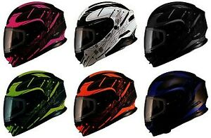 GMax Snowmobile Modular MD01 Wired Modular Helmet Pick Color & Size