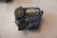 Swiss Reuge 18 Note Music Box Wind Up Movement- The Third Man #654