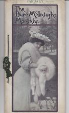 Burr McIntosh Monthly January 1906 - Complete Photo Magazine ROOSEVELT Actors ++