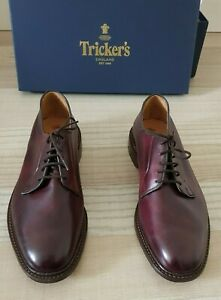 TRICKER'S Royal Derby Robert Burgundy MADE IN ENGLAND Size 45 (UK 10.5) UVP 500€