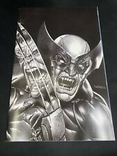 Wolverine 1 Mico Suayan Exclusive B&W Virgin Variant Hulk 340 Unknown Comic C2E2