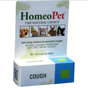 Homepet Kennel & Persistent Cough Relief Natural Respiratory Remedy Dog & Cat