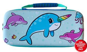 Nintendo Switch Lite Narwhal Protective Carry and Storage Case
