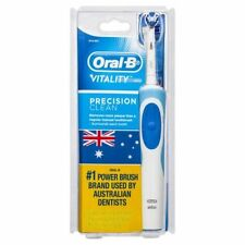 Oral B Vitality Precision Clean Electric Rechargeable Toothbrush w/ 2 Brush Head