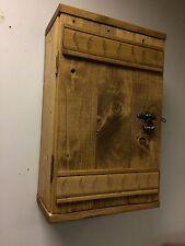 Cottage style reclaimed wood Rustic SHELF WALL Cupboard handmade Unit