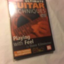 Playing with Feel Ultimate Guitar Techniques Series Lick Library Dvd 000393057