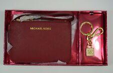 Michael Kors Neuf JET ENSEMBLE CUIR Dragonne Porte-monnaie et porte-clé