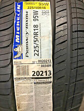 1 New 225 50 18 Michelin Primacy MXM4 Tire