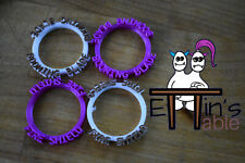 24 Spell Marker Rings for Role Playing Games - 3d Printed and Made to Order!