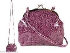 Unbranded Croc Print Shoulder Bags