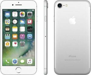 Apple iPhone 7 A1660 GSM/CDMA Smartphone Silver / 32GB / Unlocked