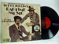 THE RAGTIMERS scott joplin music played by LP EX+/EX, NSPL 41030, vinyl, album,