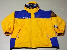VTG 90's Columbia Sport full zipper front hooded Skiing snowboarding jacket XL