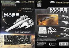 Mass Effect Game SR2 Normandy Metal Earth 3-D Laser Cut Steel Model Kit NEW