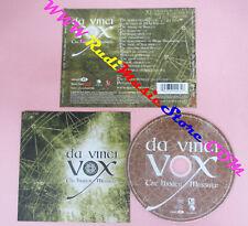 CD DA VINCI VOX The Hidden Message 2006 France EMI  no lp mc dvd (CS17)