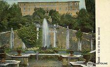 TIVOLI - Villa d'Este - Lo Scalone - 1917