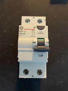 GE 604196 63A 30mA RCD