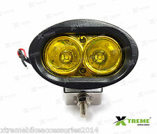 Xtreme 20w Yellow Cree LED Fog Off Road Bar Light For Mitsubishi Pajero Sport