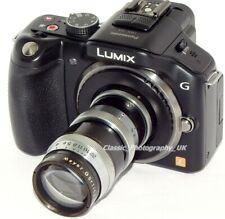 C-Mount 16mm Movie Film Lens to Panasonic Lumix SONY A6300 NEX Micro 4/3 Adapter