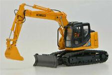 Ros Kobelco ED160BR-5 Ultra Small Round Excavator 1/50 Metal Engineering Vehicle