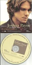 JOSHUA PAYNE Your Love My Home 3 RARE LIVE ENHANCED VIDEO CLIPS PROMO CD Single