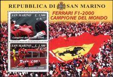 San MARINO 2001 Schumacher/FERRARI/RACING/Auto/F1/Grand Prix SPORT/M/S (s5044a)