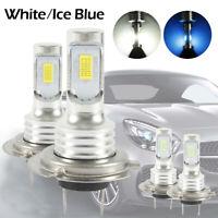 2Pcs H7 LED Bombillas Kit Faros Delanteros Haz Blanco/Azul  35W Auto Faro 8000K