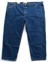 Levi's 550 Relaxed Fit Blue Wash Denim Jeans Pants Men's NWT