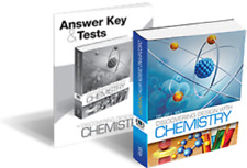 Discovering Design With Chemistry SET High School Science Jay Wile Text & Tests