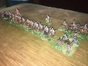 23 Painted  - 1/72 Confederate South Carolina Cavalryt w Artillery & Caisson !