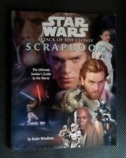 Star Wars: Attack of the Clones Movie Scrapbook by Ryder Windham (2002, Paperbac