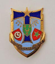 Insigne de l'Ecole des Transmission en AFN, OFSI Paris