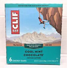 Cliff Bar Cool Mint Chocolate Energy Bar 14.4 oz