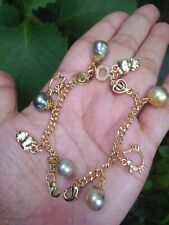 Auth SOUTH SEA PEARL Bracelet with Hello Kitty Charm in Micron Setting ON SALE
