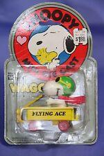 Vintage Peanuts Aviva Snoopy Series Mini Die Cast Flying Ace NIP