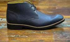 50 off Steptronic Brown Tan Cognac Leather Chukka Desert BOOTS Sheepskin UK 9