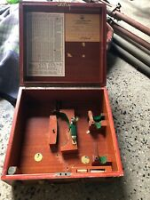VIntage Original  WWII U. S. Navy SEXTANT WOOD BOX ONLY