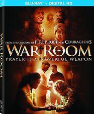 WAR ROOM (2015)-  Blu Ray - Sealed Region free