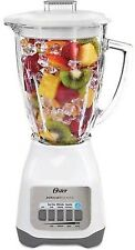Oster Classic Series Blender White Duralast All Metal Drive 700 Watts Glass Jar