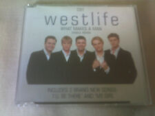 WESTLIFE - WHAT MAKES A MAN - UK CD SINGLE - PART 1